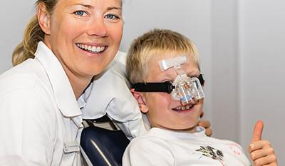 Behandlung mit Lachgas - Zahnarztpraxis am Rathaus