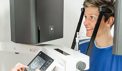 Digitale Volumentomographie - DTV - Zahnarztpraxis am Rathaus Langenfeld